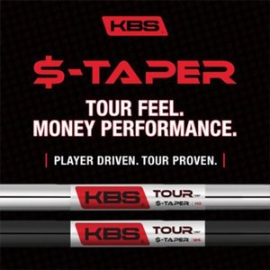 KBS Tour $-Taper BLACK PVD